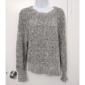 Free People marled chunky knit sweater SZ small
